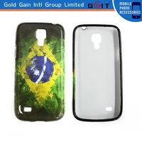 Popular Water Transfer Printing Hard Case For Samsung I8190 I9190 S4 mini PC Hard Case For S4 mini Colorful