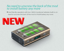Passthrough vape box mod 2015 best selling 80W smok xpro m80 plus box mod