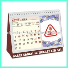 Table Calendar Desktop Calendar Spiral Calendar