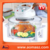 12 liter electric convection oven with halogen light bulbs