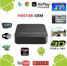 Android 4.4 XBMC 14.0 Smart tv box MXQ Quad Core Tv Box Android 4.4 MXQ 8G Rom Google Tv Box EU UK US Plug All Stock MXQ
