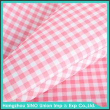 hangzhou textile waterproof outdoor awning fabric red white stripe oxford fabric