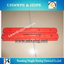UHMWPE track shoe pad for crane