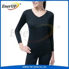 custom nylon spandex long sleeve compression women t-shirts