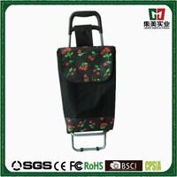 Newly Arrival folding fabric Shopping Trolley Bag