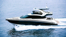 68ft luxury yacht with flybridge