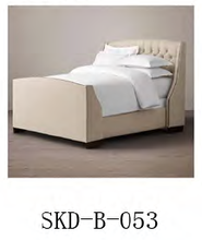 french style comfortable wood bed, double bed, single bed, beds for teens