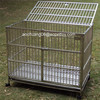 Stainless Steel large Dog Cage with wheels