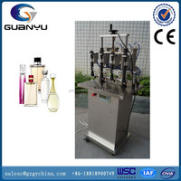GY-XSB Stainless Steel Four Heads Perfume Semi automatic Filling Machine