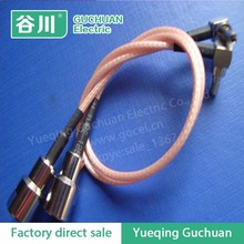 15CM Pigtail coaxial jumper cable RG316 extension cord 6inch CRC9 male to RP SMA male 2 double right angle RF adapter connector