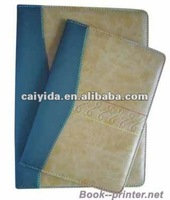 High quality diary printing with leather cover