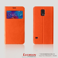 Customized Leather Smart Phone Case for S4 S5 S6