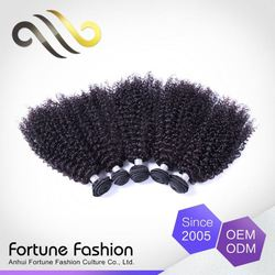 Exclusive Oem Colour Curl Kinky Weave 100% Brazilian Curly Human Hair
