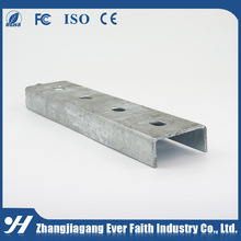 China Manufacturer Slotted Low Price U Channel Steel Price List
