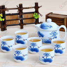 TG-405W232-W-7 pottery tea set made in China wholesale pepper spray