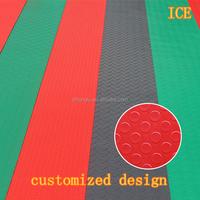 Plastic customized design mat/floor mat