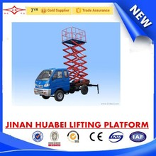 Made in China CE ISO hydraulic elevator aerial lift & scissor lift aerial work platform