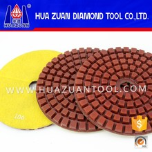 Huazuan 200mm Granite Wet Polishing Pad