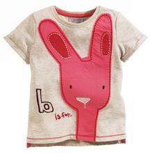 YD1042european kids t-shirt cotton short sleeve fashion baby t-shirt