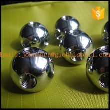 stainless steel solid ball drilled with a hole