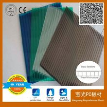 for agriculture greenhouse polycarbonate sheet price