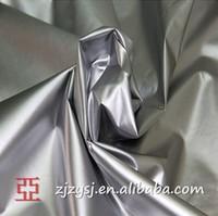 Silver Coated 210 T 100% Polyester Taffeta Umbrella Fabric