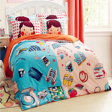 Wholesale comforter sets bedding Baby baby crib bedding set Girl Boy Cartoon Quilt Cover Bed Sheet Pillowcase bedding set