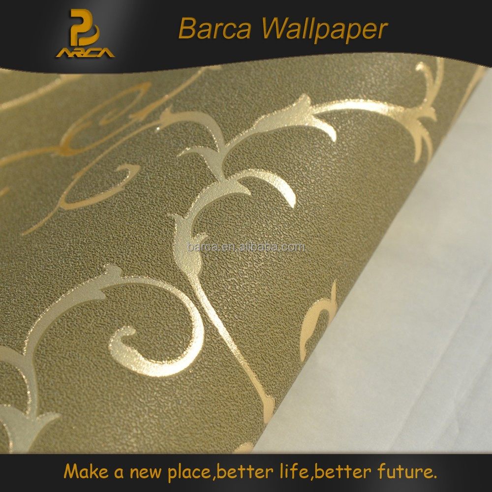 Self adhesive gold wallpaper 3d buy gold wallpaper 3d for Gold self adhesive wallpaper