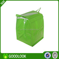 promotion non woven print eco-friendly flat bottom gift pp woven bag GL113