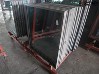 curtain wall glass, double glazing curtain wall, insulated double glazing curtain wall