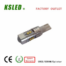 high quality 10W Samsung 2323 5630 chips led t10 t20 t15 car lamp