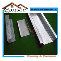 Building Construction Metal Profiles System For Drywall