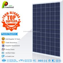 Powerwell Solar TUV,CE,SGS,CEC,IEC,ISO,OHSAS,CHUBB,INMETRO solar panel 320w polycrystalline solar modules