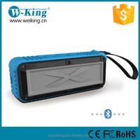 new for 2015 IPX6 water resistant waterproof outdoor Bluetooth speaker wireless audio amplifier for outdoor sport and bike