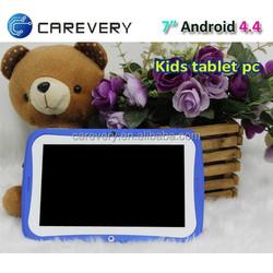 Quad core kids tablet pc, android 4.4 quad core kids tablet smart design, cheap 7 inch quad core tablet kids children