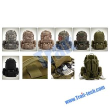 New Arrived 50L Outdoor Military Rucksacks Camping backpack Camouflage Bag ( Army Green)