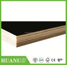 Pannelli per casseforme per la costruzione, nero fogli melammina, pannelli strutturali di legno usato