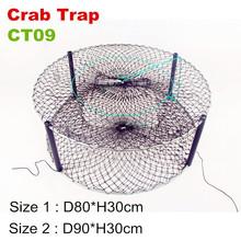 Australia mercado plegable barato de pesca barro trampas de cangrejos