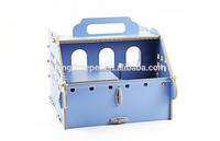 Fashionable portable hamster wooden house/pet travelable wooden house for hotsale
