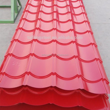 1250mm width sheet metal roofing for building in China