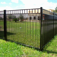 lowes fencing with high quality/galvanized steel fencing/ aluminum fencing/ISO9001 certification
