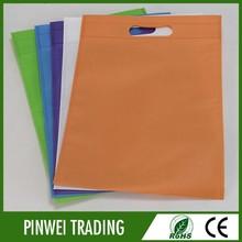 Promocionales personalizados baratos no tejido de la bolsa/precio no tejido de la bolsa