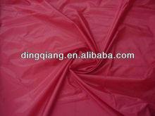 White/Black/Red 190t lining fabric of taffeta