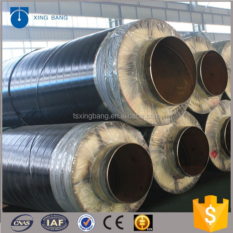 Best Design Insulation Pipe With Rockwool Material And