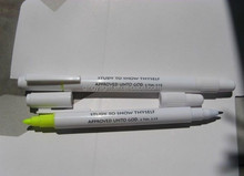 1 side highlighter pen & 1 side ball pen/ multi ballpen