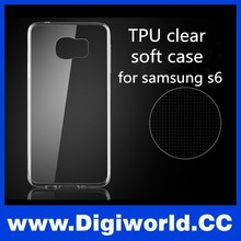 Newest TPU Ultra-slim Soft Case for Samsung S6, for samsung s6 cover