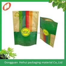 new product paper zipper pouches/bags for food packaging