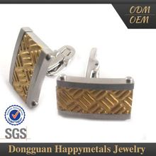 Low Price Stainless Steel Gold Cufflinks Prices