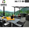 Weather-Resistent Wood Plastic Composite wpc Deck Floor Exterior Decking Floor WPC Barthroom Tile Board