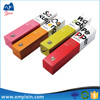 China factory wholesale color printing paper pen box